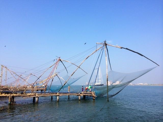 fishing boat sails india