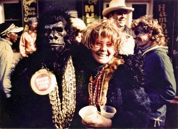 LB & gorilla