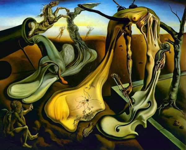 "Salvador Dalí, ""Daddy Longlegs of the Evening – Hope! "" (1940)"