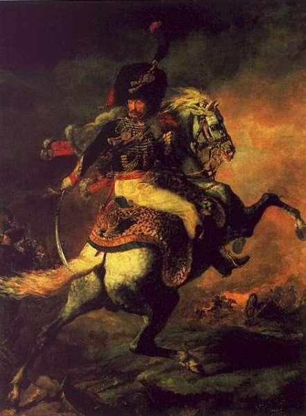 "Théodore Géricault, ""The Charging Chasseur"" (1812)"