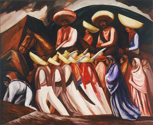 """José Clemente Orozco, """"Zapatistas"""" (1931)"""
