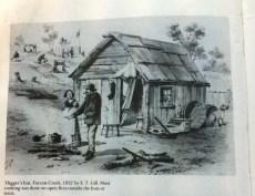 Diggers Hut Forrest Ck 1852