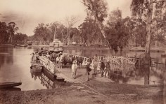 The Murray Crossing 1875 Echuca