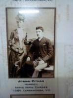 1889 Annie Irwin cairnes marraiage