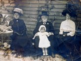 1915 approx. Elsie May, WBC, grand daughter and great granddaughter?