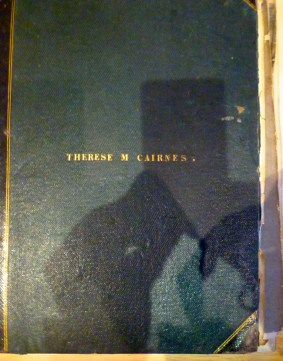 Therese M Cairnes Scrapbook Cover