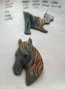 Horse-Head-Brooch