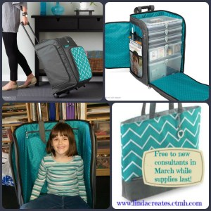 Rolling Tote Collage