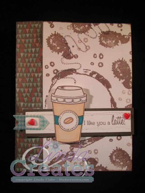 FMS 190 Like You A Latte Jackson Paper C1616 Treats of Friendship Linda Creates ~ Linda Caler www.lindacreates.com
