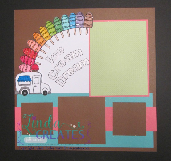 S1506 Ice Cream Dream - CTMH - Linda Creates ~ Linda Caler www.lindacreates.com