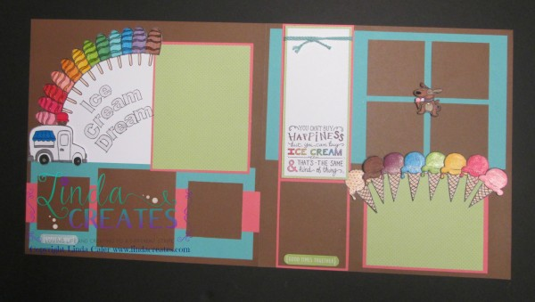 S1506 Ice Cream Dream - CTMH - Linda Creates ~ Linda Caler www.lindacreates.com