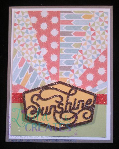 Sunshine Starburst Card wm