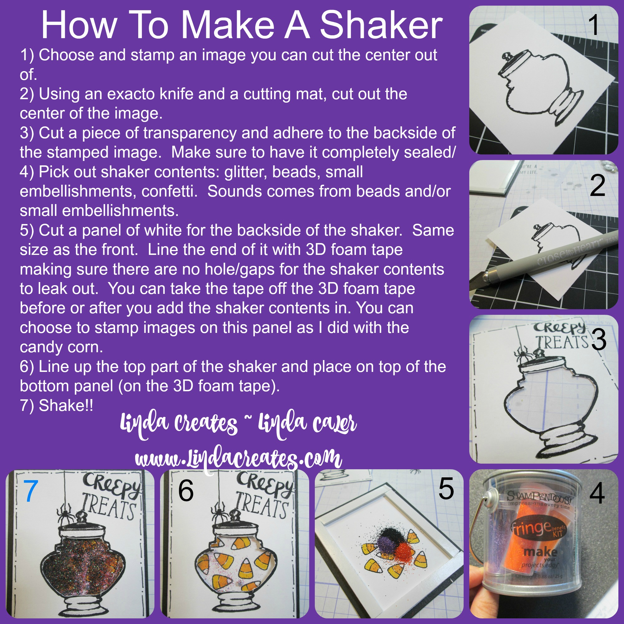 How to Make a Shaker with typeCollage