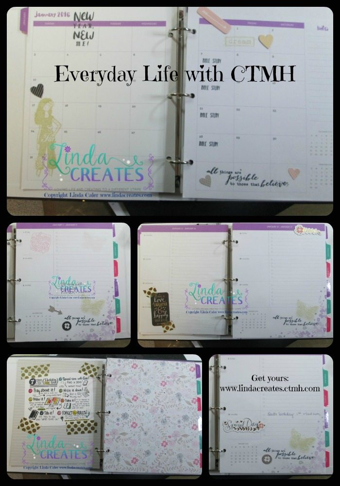 Everyday Planner Collage Collage