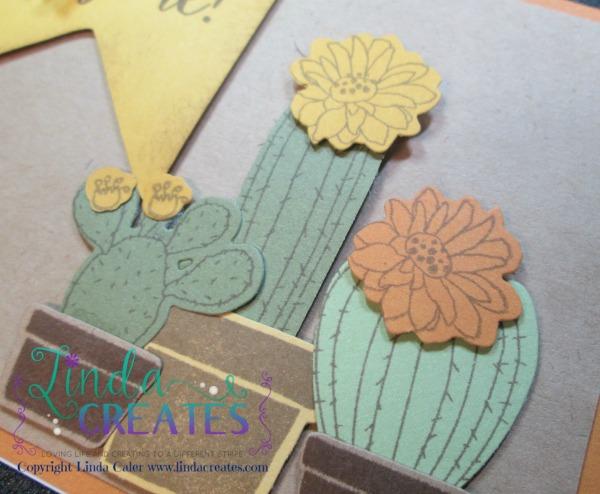 Hug Me Card Cactus Linda Creates ~ Linda Caler www.lindacreates.com #linda_creates #cardmaking #stamping #cactus