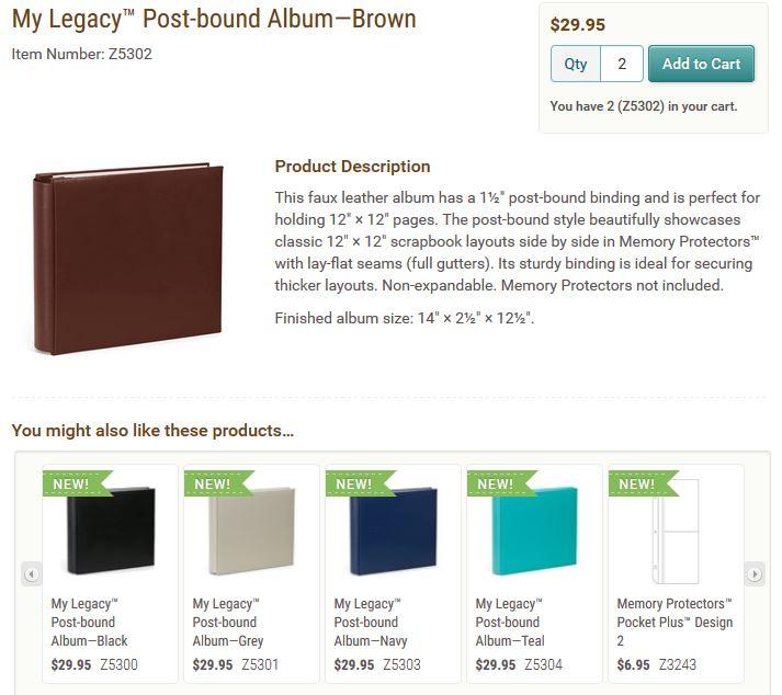 albums post bound