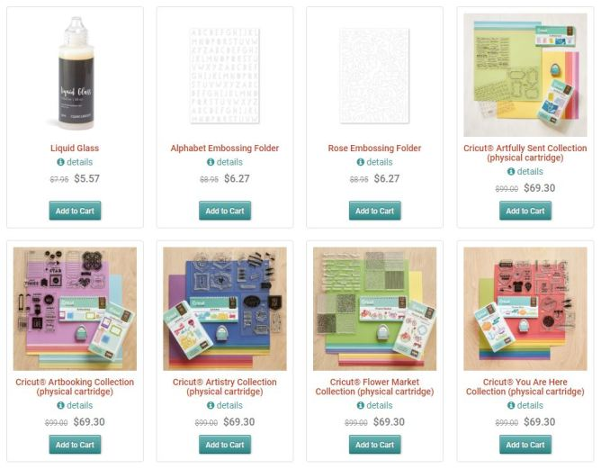 TODAY only ALL Physical Cricut Cartridge Sale - Linda Creates