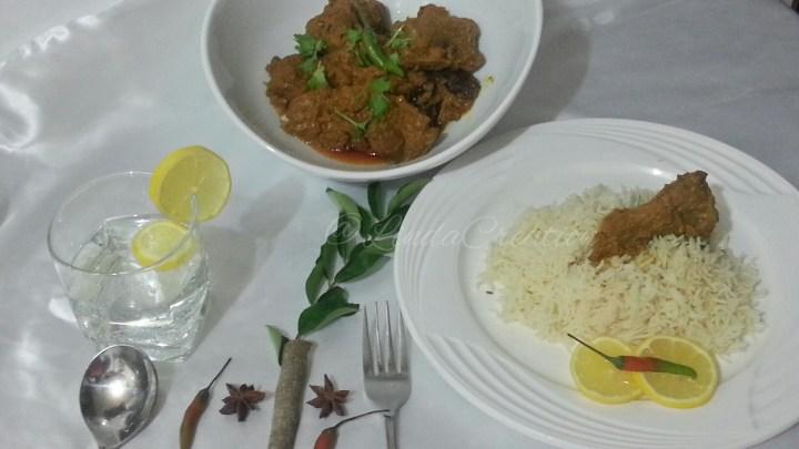 Mutton Masala with Yogurt & Spices