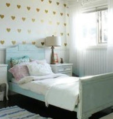 Linda's bedroom - where she first experimented going out-of-body