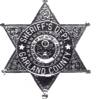 Garland County Sheriff's Deputy Badge