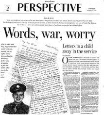 Words, war, worry