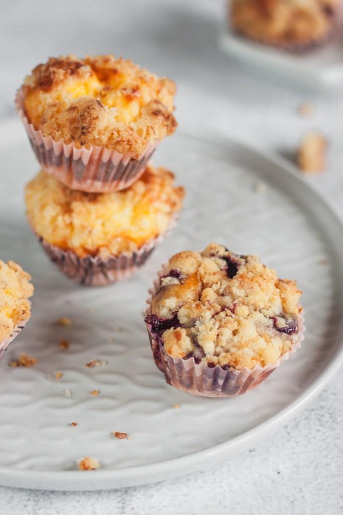 Streusel-Käsekuchen-Muffins