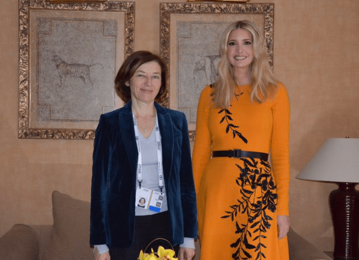 Ivanka Trump gets trolled for wearing an orange dress: 'You'll get used to it in prison'