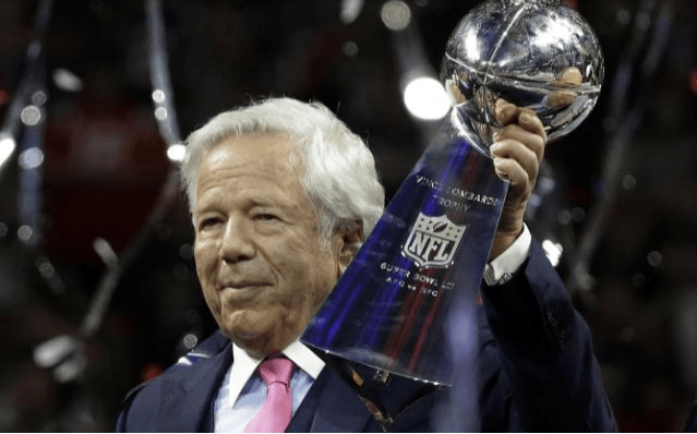 Patriots owner Robert Kraft charged for soliciting prostitutes in Florida