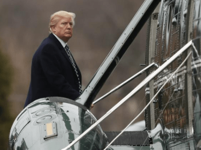 Reckoning time: Trump checks in for another medical checkup