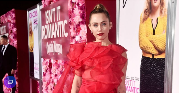 Miley Cyrus Took Liam Hemsworth's Place at His Premiere in the Most Breathtaking Valentino Gown