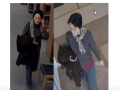 Police are searching for a mother who's allegedly harassing college women to date her son