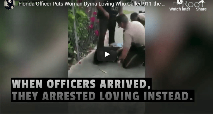 Florida Officer Puts Woman Who Called Police In Headlock