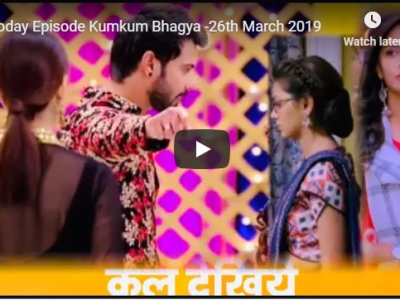 Kumkum Bhagya Twist of Fate -26th March 2019