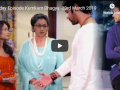 Today Episode Kumkum Bhagya Twist of Fate -23rd March 2019