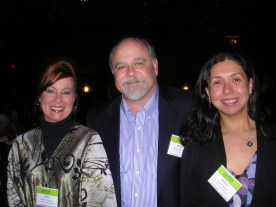 Dr. Glessner, Wayne Butler and Gisela Greco-Llamas at the UPCEA conference in Portland, Oregon.