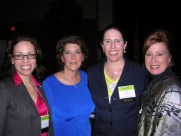 Amy Heitzman, Lori Derkay, Cheri Simpson and Dr. Glessner at the UPCEA conference in Portland, Oregon.