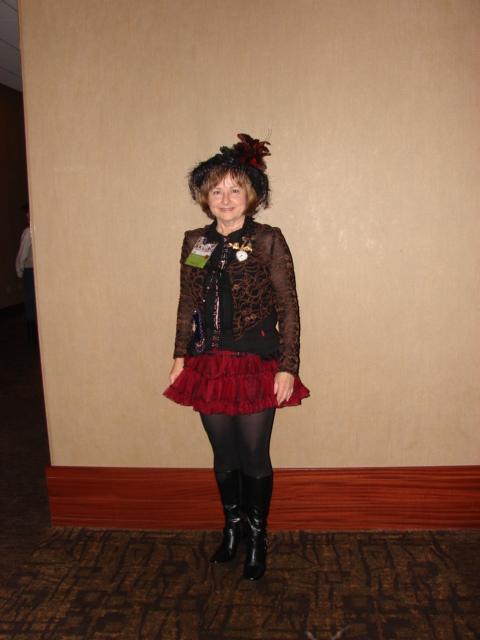 My Evening Adventuress costume