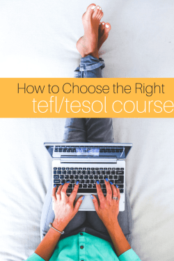 How To Choose The Right TEFLTESOL course (1)
