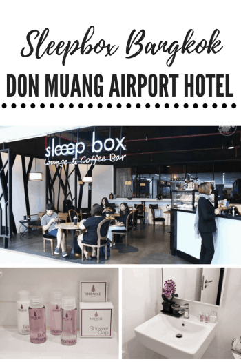 Inside Bangkok Don Muang Sleepbox Airport Hotel