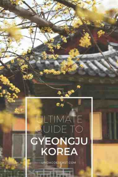 The Perfect Gyeongju Itinerary