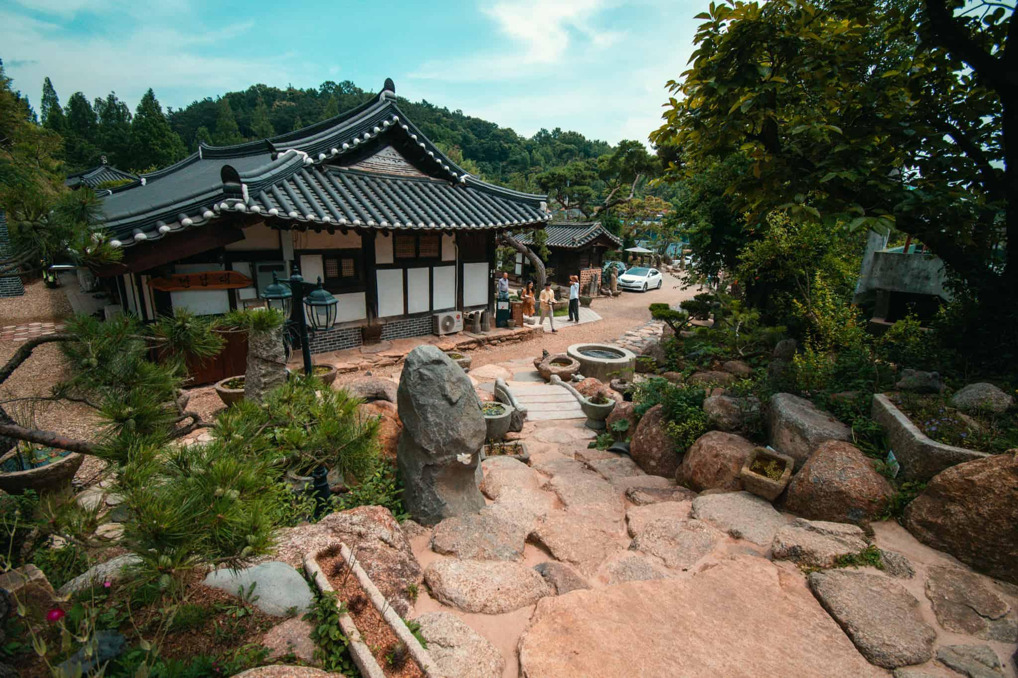 Teahouse in Boseong