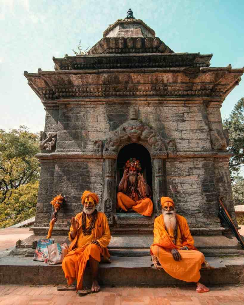 Sadhu Holy Men in Kathmandu