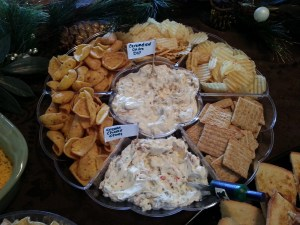 2013 Sausage Party Caramelized Onion Dip Cream Cheese Olives 20131221_122035