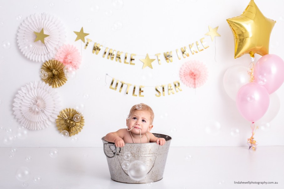 Cake smash studio photography Perth 004