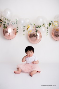 Cake smash 1st birthday photo session 001