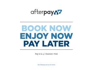 Afterpay availabe here