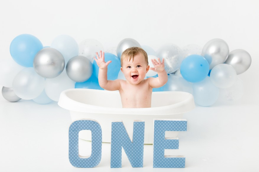 1st Birthday cake smash photo shoot