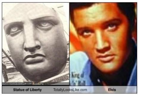 Statue of Liberty totally looks like Elvis