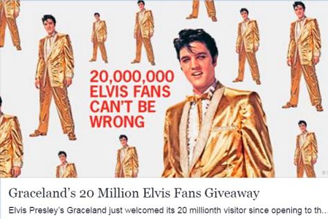 20,000,000 Graceland visitors