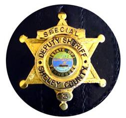 Second Shelby County Badge